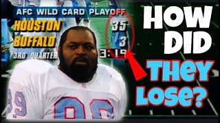 The BIGGEST Lead EVER BLOWN in the NFL Playoffs