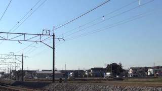 JR651系OM204編成 回送 JR上越線 八木原~渋川 区間