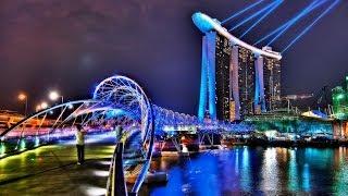 #131. Сингапур (Сингапур) (классное видео)(Самые красивые и большие города мира. Лучшие достопримечательности крупнейших мегаполисов. Великолепные..., 2014-07-01T02:40:04.000Z)