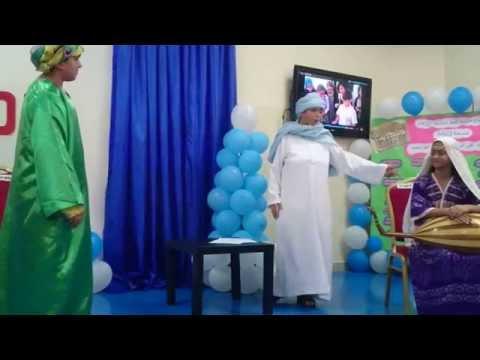 مسرحية زرياب - فريق مدرسة المهد العالمية المسرحى 2015