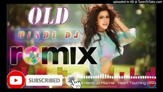 DJ// hindi dj remix dholki mixing hard bass new song