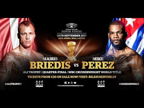 World Boxing Super Series Майрис Бриедис - Майк Перес Mairis Briedis vs Mike Perez Who Wins?