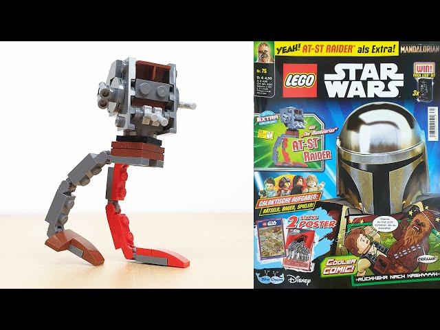 LEGO® Star Wars™ Magazin Nr. 75 mit AT-ST™ Raider im Foilpack