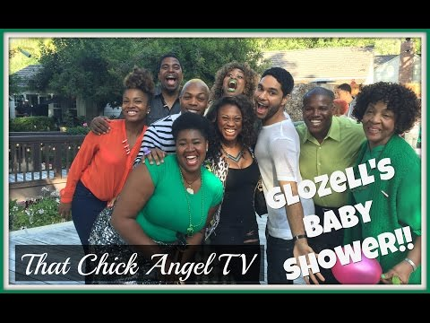Glozell's Baby Shower | One Mom's View | That Chick Angel TV
