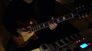 A QUEER FISH - SUNNYROSE - Hot Avantgarde Jazz Style Improvisation on GIBSON Les Paul Guitar