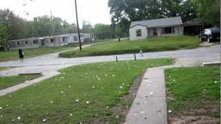 04-09-12 Woodward, Ok Hail Storm Baseball Size