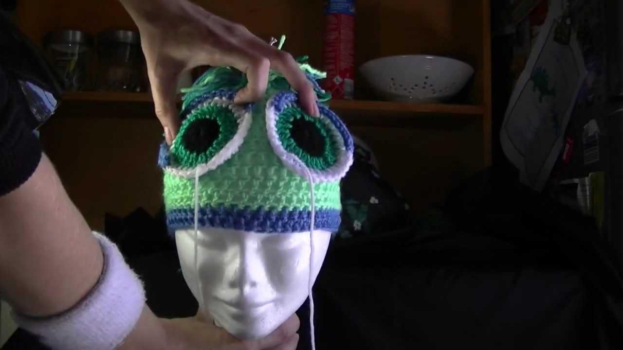 Horse Hat Crochet Mini Tutorial - YouTube