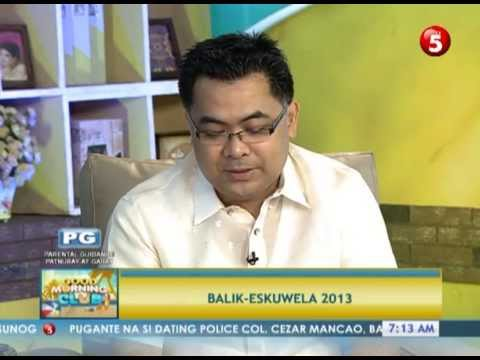 News5E | Cheryl Cosim interviews DepEd's Asec. Tonisito Umali