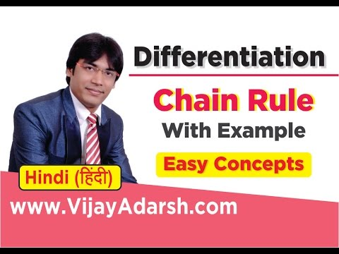 Chain Rule with Examples - Differentiation| Stay Learning |CBSE (HINDI | हिंदी)