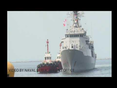 Royal New Zealand Navy warship visits Manila