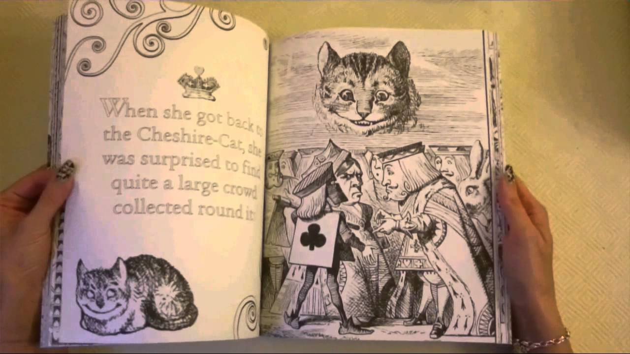 Alice S Adventures Wonderland A Colouring Book Youtube