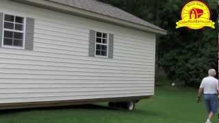 14' X 28' Garage Delivery - Portable Storage Building P.1