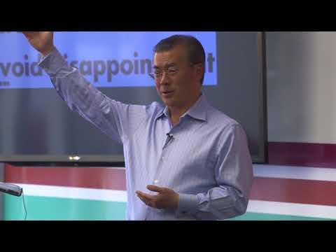 Dr. Joon Yun speaking at Draper University, 9/12/17