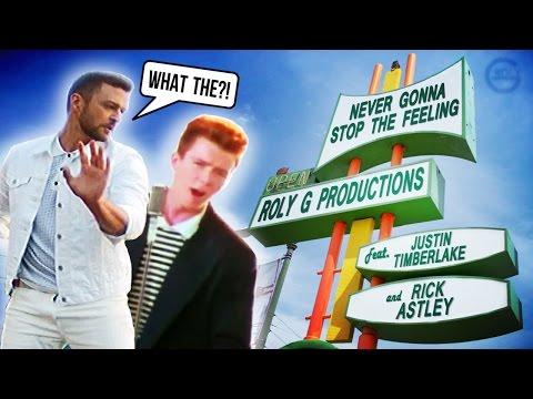 "JT Vs Rick Astley - ""Never Gonna Stop The Feeling"" Mashup"