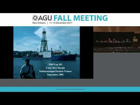 2017 Fall Meeting - U21C: The Asahiko Taira International Scientific Ocean Drilling Research Prize