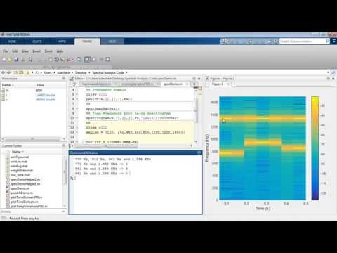 Spectral Analysis With MATLAB