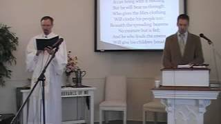 "Congregational Hymn: ""Sometimes a Light Surprises..."" First OPC Perkasie, PA 6/03/12."