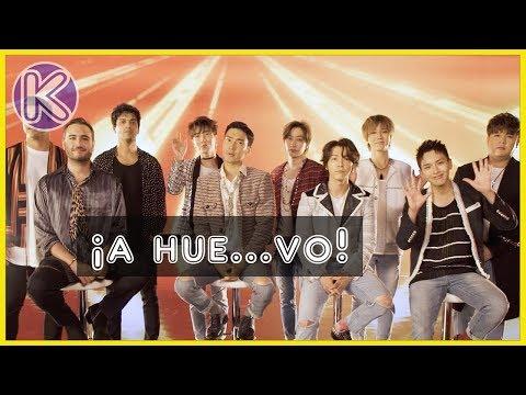 Super Junior aprende expresiones mexicanas con Reik(SUB ESP)