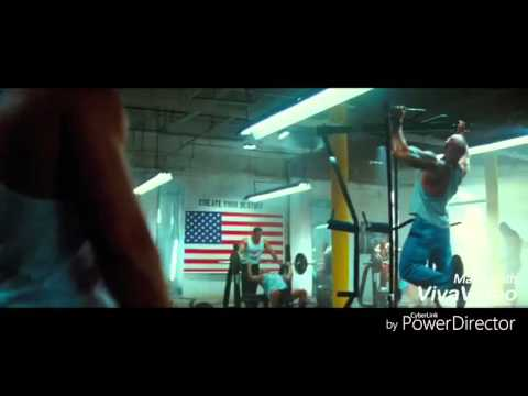 The Rock fight in pain and gain