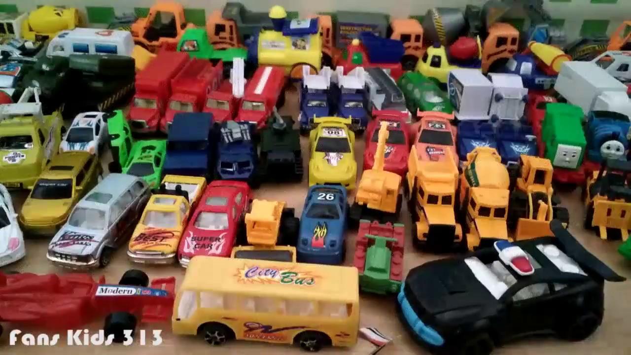 Vidio Untuk Anak I Koleksi Mainan Mobil Mobilan Keren Youtube