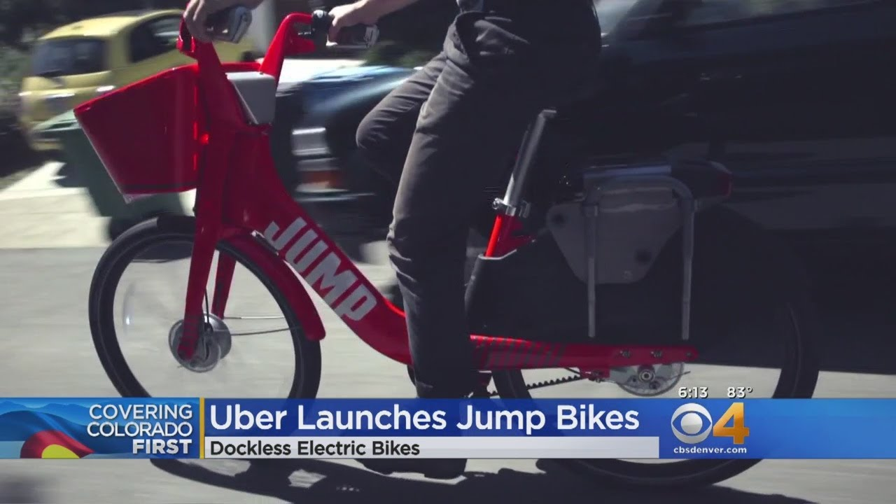 Uber Launches 'Jump' Bikes