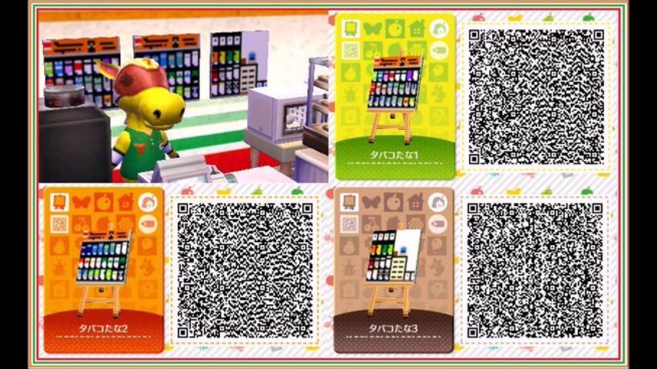 animal crossing happy home designer qr code 9 3ds youtube
