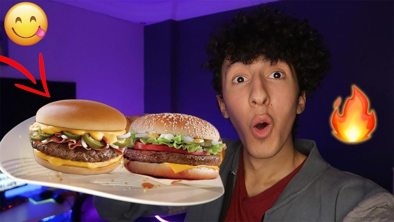 طريقة عمل ساندوتش برجر زي ماكدونالدز بالظبط الطعم رهييب