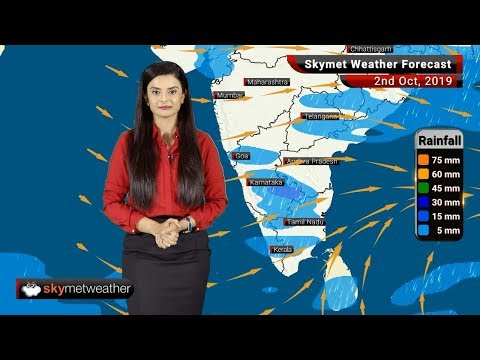 Weather Forecast Oct 2: Moderate rain in Prayagraj, Varanasi; Patna to see nearly dry weather