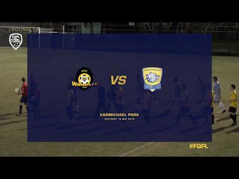 FQPL RD14 Highlights - Wolves FC vs. Capalaba Bulldogs