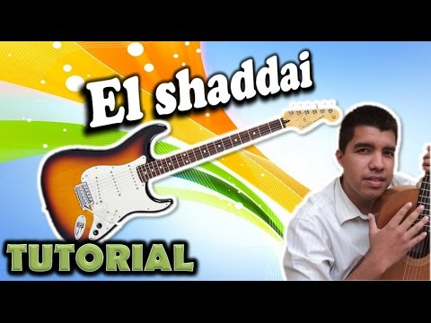 "Clases de guitarra- Como tocar ""El Shaddai""- New Wine (Intro)"