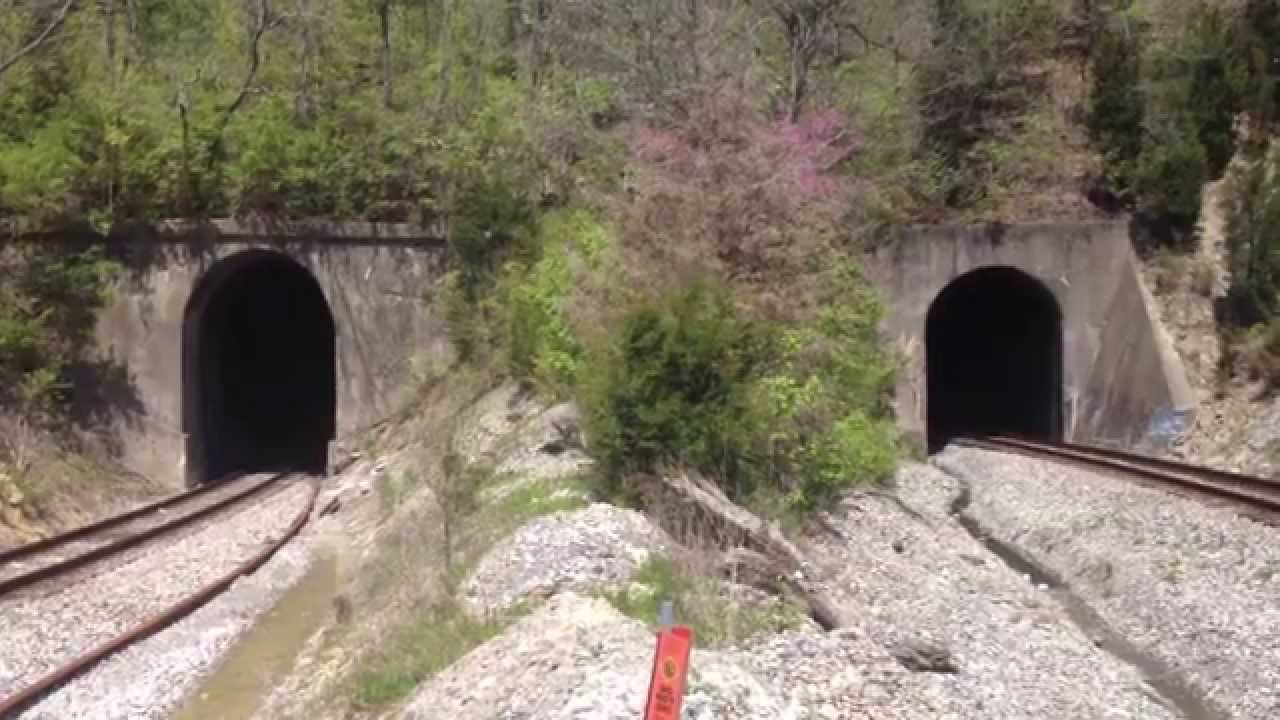 36321 >> CSX Spirit of West Virginia #1 Lambs Ferry Tunnel! Must See!! HD - YouTube