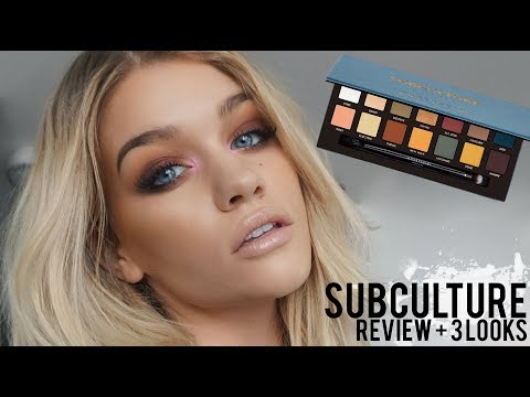 ABH SUBCULTURE PALETTE REVIEW + 3 LOOKS