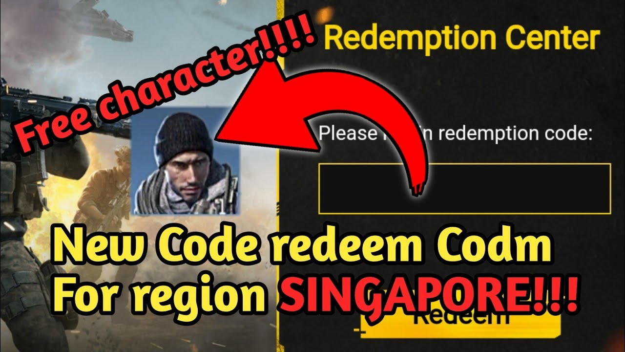 New Code redeem Codm Server Singapore #CODM # ...