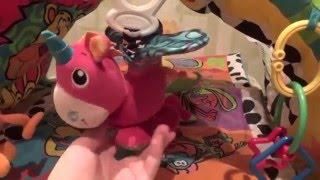 Детский развивающий коврик. Обзор игрового коврика . Видео для детей.