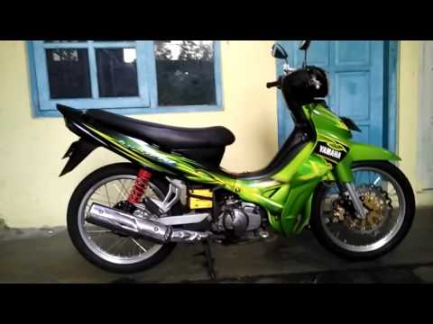 Jupiter Z Modifikasi Road Race Supra X Race Youtube