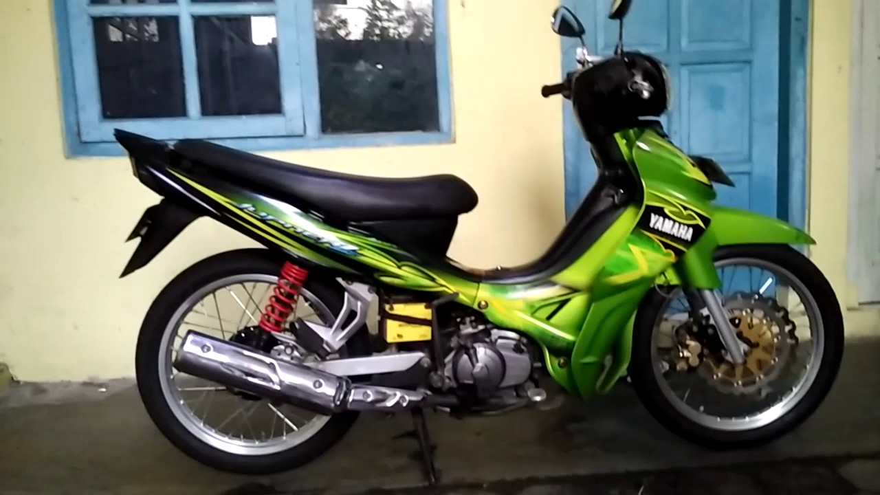 jupiter z modifikasi road race & supra x race - youtube
