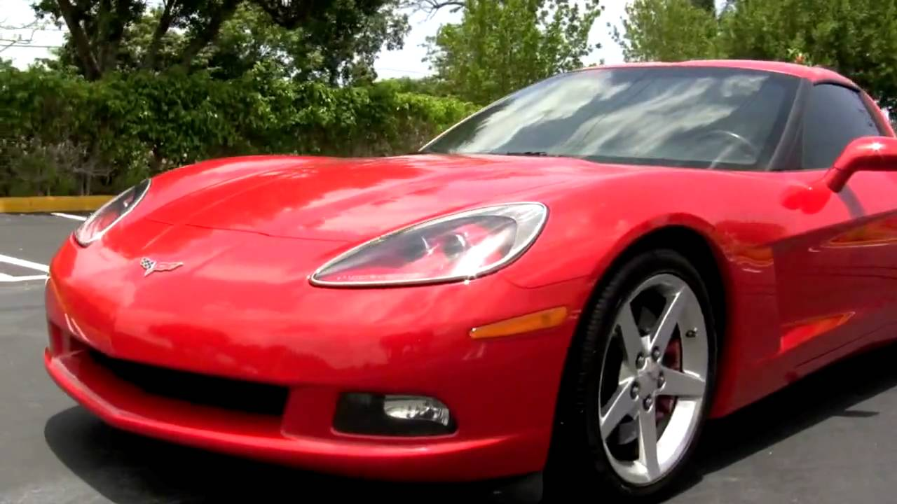 2006 chevrolet corvette victory red t2321 youtube. Black Bedroom Furniture Sets. Home Design Ideas