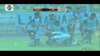 Piala Presiden 2018: PERSELA LAMONGAN (1) VS BHAYANGKARA FC (1) - Highlight Peluang dan Goal