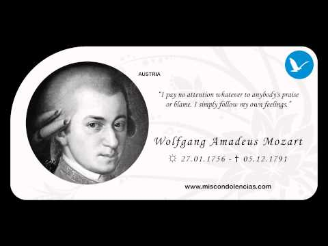In Memory of Wolfgang Amadeus Mozart