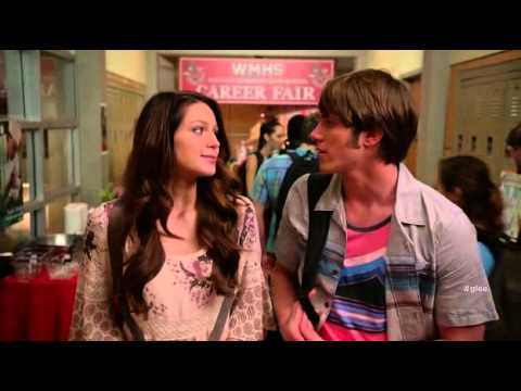 who is ryder dating on glee