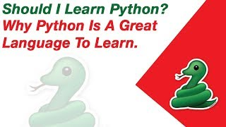 Why Python Is A Great Language To Learn. #python #pythonprogramming