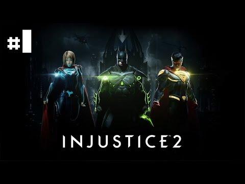 Injustice 2 - Let's Play #1 [FR]