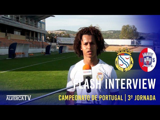 FC Alverca 3-0 UD Santarém - Flash Interview