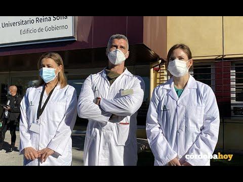 Los profesionales sanitarios se ponen la segunda dosis de la vacuna contra la Covid-19