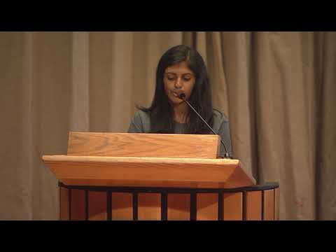 2017 Alumna speaker, Saroja Erabelli