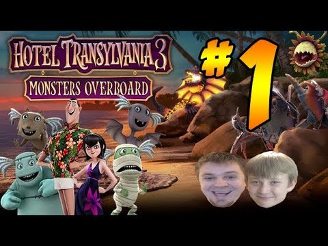 Hotel Transylvania 3: Summer Vacation Movie Video Game - PART 1 - Monsters Overboard