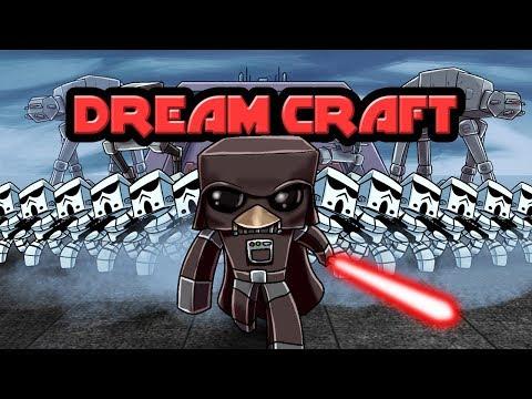 Minecraft | Dream Craft - DARTH PENGUINS IMPERIAL BASE! (Star Wars Movie)