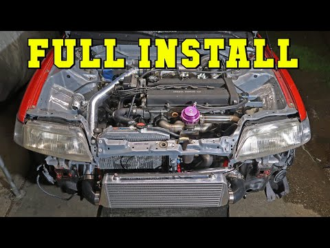 HOW TO TURBO YOUR HONDA ( A-Z )
