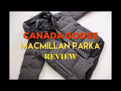 Review Of Canada Goose MacMillan Parka