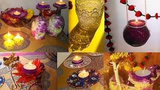 Make your home beautiful with (Easy) 9 DIY DIWALI DECORATION  🔥🔥
